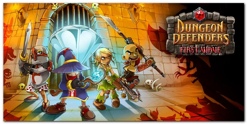 Dungeon Defenders: First Wave для Android разработана на основеUnreal Engin