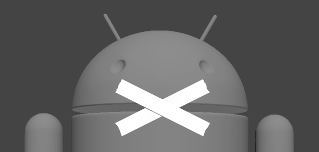 android-not-open
